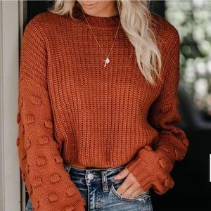 NWT Crop Sweater